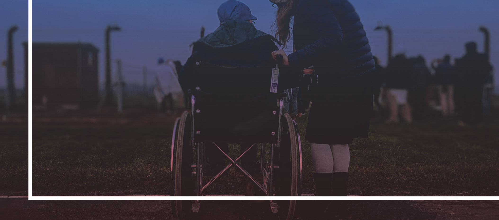 fiche 5 - personne en fauteuil roulant - situation de handicap